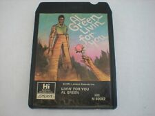 Al Green Livin' For You 8 Track Tape Eight London Hi M 92082 1973