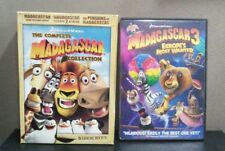 Madagascar: The Complete Collection + Madagascar 3    (DVD)    LIKE NEW