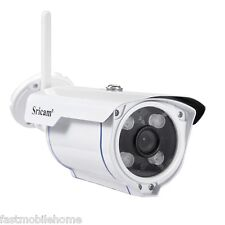 Sricam SP007 Bullet Outdoor HD Camera WIFI TF Card Storage IP Camera White