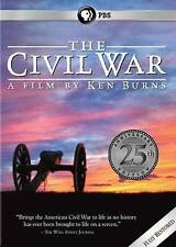 The Civil War: A Film Directed By Ken Burns (New DVD, 25th Anniversary Edition)
