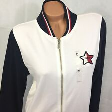 Tommy Hilfiger Women's Medium Jacket Coat Sweatshirt Star...