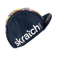 SKRATCH LABS BLACK COOLMAX MESH TEAM CYCLING CAP NEW HAT