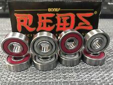 Bones Reds Skateboard Bearings - (Pack of 8) Skates, Skateboard or Scooter