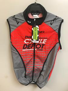 Louis Garneau Mens The Cycle Depot Cycling Vest Size L