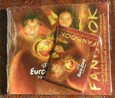 UEFA EURO 2004 FOOTBALL PROGRAMME/FANBOOK PLUS MINI-FANBOOK IN PACK STILL SEALED