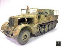 Sd.Kfz9 FAMO + Besatzung + Ausrüstung -  1:35 - gebaut und gemalt (Pro-Built)