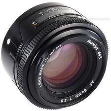 Mamiya 645 AF 80mm 1:2.8 for Mamiya AF AFD II III and Phase One 645DF DF+ (1194)