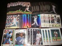 Huge Lot of (50) Fred McGriff Baseball Cards Blue Jays Rays Braves