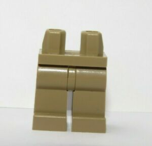 LEGO 1 x Legs Leg For Minifigure  Figure  Dark Tan