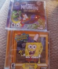 Jimmy Neutron Boy Genius And Spongebob Employee Of Month PC Game