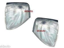 Turn Corner Light White Pair For 94-2000 Mercedes W202 C180 C220 C200 C250 C230