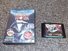 SEGA MEGA DRIVE GAME - HEAVY NOVA - BOXED - TESTED