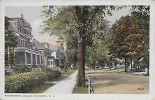Westminster Avenue, Elizabeth NJ handsome vintage postcard not postally used