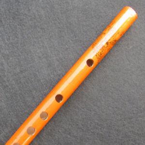 Tradizionale strumento musicale a 6 fori in bambù flauto con clarinetto in legno