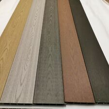 COMPOSITE FENCE BOARDS. Wild brown 5 inch sample