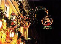 Rothenburg ob der Tauber , Hotel Goldener Hirsch, Ansichtskarte ungelaufen