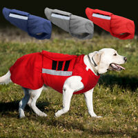 Dog Coat Waterproof Winter Warm Pet Clothes Reflective Jacket Bull Terrier Boxer