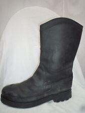 RAUTUREAU chaussure/ bottes /boots NOIR CUIR  44/45