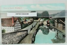 Welshpool Showing the Montgomery basin. Rare Postcard  13/7/1906, 570ad