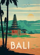 Poster - Travel Poster - Bali - A3 Matte