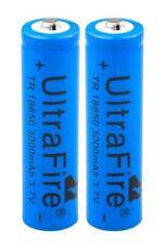 2x UltraFire Akku 18650 3.7V 3000mAH - Li-ion Wiederaufladbare Batterie Recharge