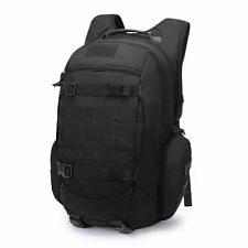 Tactical Backpack Military Rucksack 35L Molle Pack Hydration Compartment BLACK