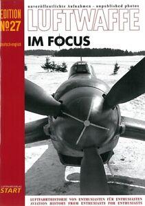 Luftwaffe im Focus, Nr. 27, unveröffentliche Fotos Modellbau/Luftkrieg/Bilder