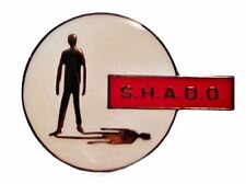 UFO SHADO Gerry Anderson TV Series Logo Metal Enamel Pin