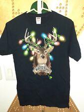 Size Medium: Whitetail Christmas Tee Reindeer Deer Hunter Ugly Sweater Tee