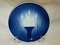 "Bing & Grondahl B&G Montreal Olympics 7-1/2"" Plate - 1976 - Made in Denmark 9476"