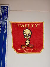 "Vintage Original 1973 Warner Bros. Tweety Bird Patch 5"" X 5"" Large Nos"