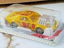 MAJORETTE 80's PONTIAC PRO STOCK FIREBIRD TRANS AM #8 Yellow 1/62 NIP 208