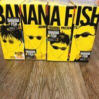 BANANA FISH Reprinted Edition 1-4 Full Set JAPANESE VERSION Akimi Yoshida Manga