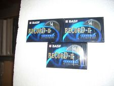 BASF RECORD II - Cassette new 54 minutes