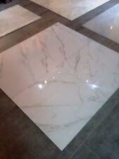 Glazed Polished Porcelain Tile 32x32 Iceberg Statuario Alpine Rectified Inkjet
