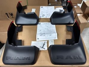 OEM  2019 2020 Ram Front and Rear Deluxe Molded Splash Guards Mud Flaps