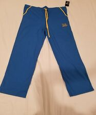 NWT Scrubs Dudz UCLA BRUINS Medical Hospital Lounge Pants New!! SIZE XXLARGE XXL