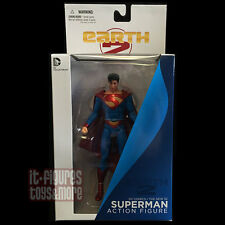EARTH-2 New 52 SUPERMAN Action Figure DC Comics Direct Collectibles!
