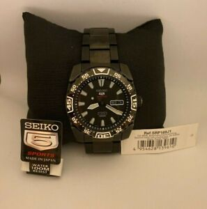 Seiko 5  Sports Automatic SRP169J1 Men's Watch - As New