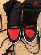 DSVNDS LIMITED Air Jordan 1 Retro High OG SATIN BANNED BRED SIZE 9New
