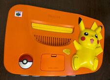Japanese Pokemon pikachu Orange Nintendo 64 console n64 NTSC-J