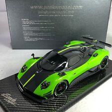 1/18 Peako Model Pagani Zonda Cinque Green with Carbon Base Special Edition