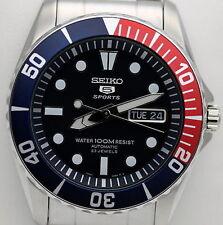Nuovo Seiko Orologio Automatico 23 Jewels Uomo Watch Snzf15k1 con Garanzia e Box