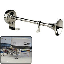 Brand New Stainless Steel 12V Marine Electric Single Horn Trumpet For Boat Yacht