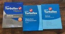 Intuit TurboTax Deluxe 2013 +2014 +2015 Federal Returns + E-File  New/Sealed