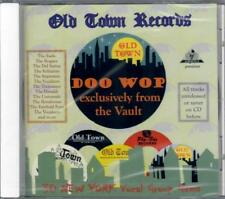 V.A. - OLD TOWN RECORDS DOO WOP exclusively from the Vault  Dee Jay Jamboree CD