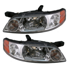 FITS 00-01 NISSAN ALTIMA LEFT & RIGHT SET HEADLAMP ASSEMBLIES