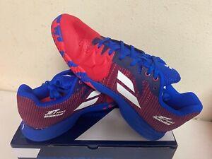 Babolat Men's Jet Mach II All Court Tennis Shoe Poppy Red/Estate Blue