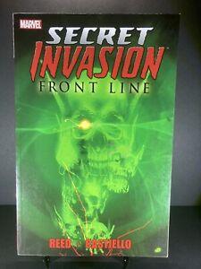 Secret Invasion Front Line Marvel Graphic Novel
