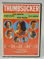 THUMBSUCKER MOVIE - DVD - VERY GOOD